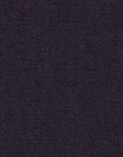 Robe manche longue en jacquard, paysage et renard KABOROB3 / 20W901N3ROBJ916