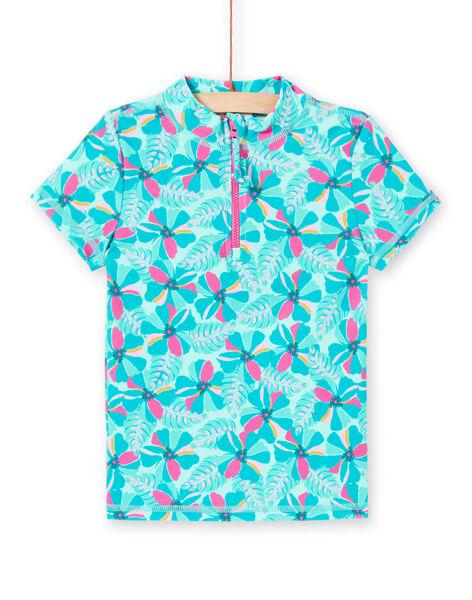 Tee-Shirt anti-uv Vert LYAMERLUV / 21SI01D1TUVG621