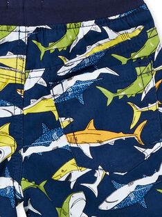 Bermuda imprimé bleu - Enfant Garçon  LONAUBER / 21S902P1BER070