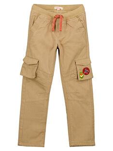 Pantalon cargo Doublé polaire Noisette GOVIOPAN2 / 19W902R2PANI804