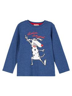 Tshirt Manches Longues Bleu  GOJOTICHI1 / 19W902L4D32C224