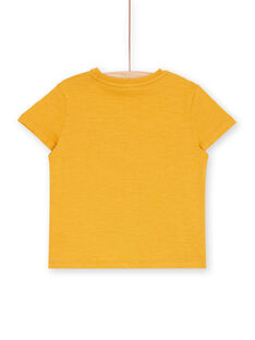 Tee Shirt Manches Courtes Jaune  LOTERTI6 / 21S902V6TMCB114