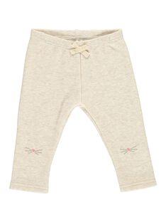 Legging en molleton bébé fille DIJOPAN2 / 18WG0938PANA010