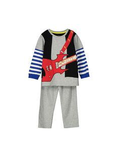 Pyjama masque garçon FEGOPYJROCK / 19SH1241PYGJ908