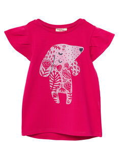 Tee Shirt Manches Courtes Rose JAJOTI2 / 20S90144D31F507