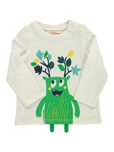Tee-shirt manches longues bébé garçon DUVETEE2 / 18WG1072TML001