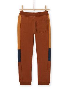 Pantalon de jogging came broderies véhicules enfant garçon MOCOJOG / 21W902L1JGBI806
