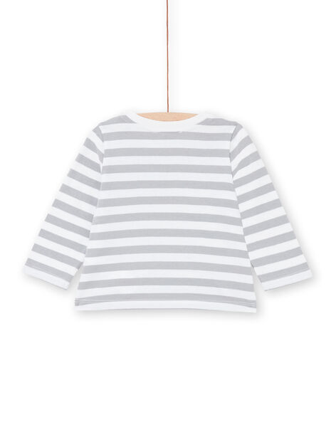 Tee Shirt Manches Longues Ecru LUPOETEE1 / 21SG10Y3TML001