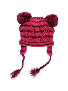 Bonnet à pompon bébé fille DYIPINBON / 18WI09P1BON099