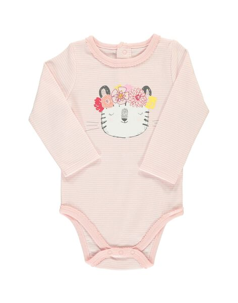 Body manches longues fille CEFIBODCHA / 18SH13T2BDL099