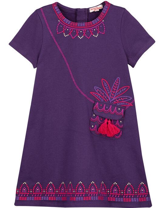 robe en molleton rebrodée  GAVIOROB2 / 19W901R2ROB708