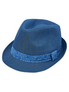 Chapeau enfant garçon + ruban avec motif  JYOSOCHAP2 / 20SI0282CHA721