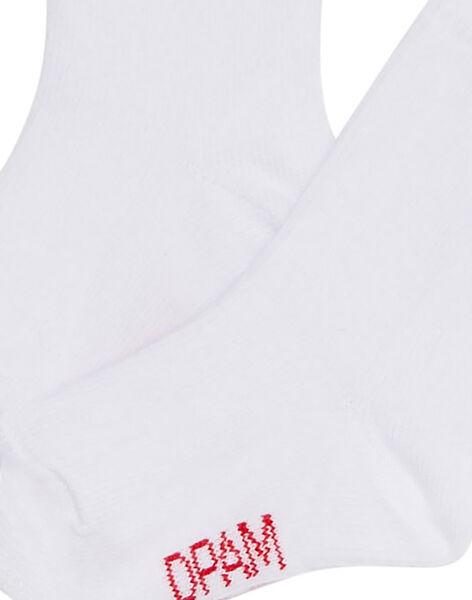 Chaussette blanche bébé JYUESCHO4 / 20SI1064SOQA001