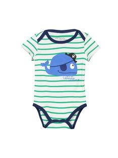 Body manches courtes bébé garçon FEGABODBAL / 19SH14I2BDL099