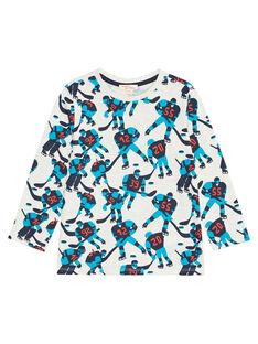 Tee shirt manches longues imprimé enfant garçon KOJOTEE7 / 20W9023AD32008