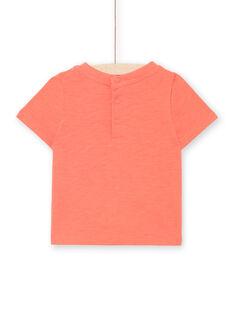 Tee Shirt Manches Courtes Rouge LUBONTI2 / 21SG10W4TMCF504