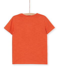 Tee Shirt Manches Courtes Orange LOTERTI3 / 21S902V3TMCE410