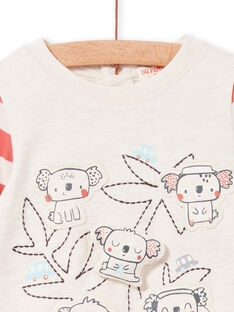 Tee Shirt Manches Longues Beige Chiné LUPOETEE2 / 21SG10Y2TMLA011