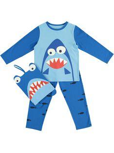 Pyjama phosphorescent motif requin JEGOPYJMAN4 / 20SH12L3PYGC238