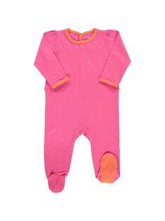 Dors-bien en coton bébé fille CEFIGREJO / 18SH1353GRE099