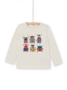 Tee Shirt Manches Longues Ecru LOROUTEE3 / 21S902K1TML002