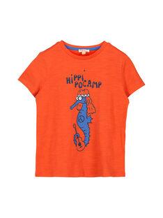 Tee-shirt manches courtes garçon FOJOTI13 / 19S902G7D31F519