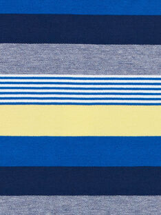 Polo Bleu marine LONAUPOL / 21S902P1POL070