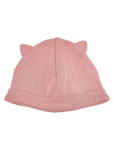 Bonnet de Naissance Rose JOU1BON2 / 20SF40J1BNAD301