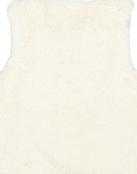 Veste en sans manche réversible en fausse fourrure GAMUCAR2 / 19W901F2CAR001