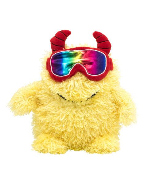 Peluche monstre jaune skieur JMonstre jaune / 20T8GM16PE2099