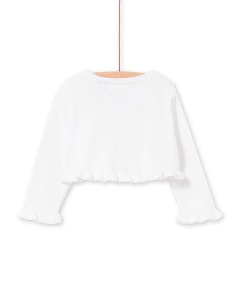 Cardigan Blanc LIBALCAR / 21SG09O1CAR000