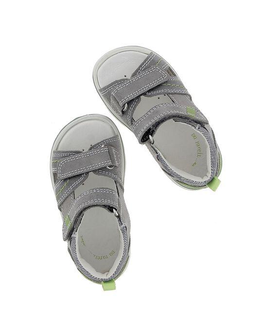 Sandale en cuir bébé garçon CBGSANDCRO / 18SK38WCD0E940