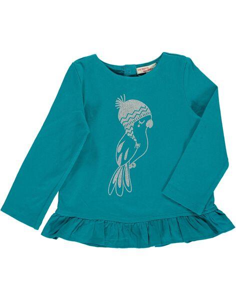 Tee-shirt manches longues bébé fille DIJOTEE5 / 18WG0935TMLC217