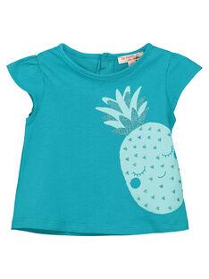 Tee-shirt fantaisie bébé fille FIJOTI7 / 19SG09G2TMC202