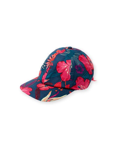 Chapeau Bleu marine LYABONCAP / 21SI01W1CHA716