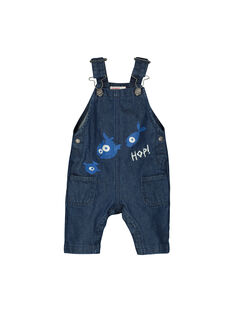 Salopette en jean bébé garçon FUNESAL / 19SG10B1SAL704