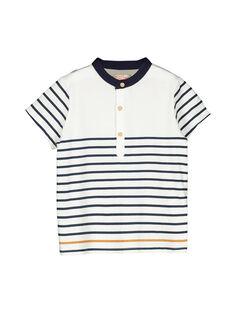 Tee-shirt rayé garçon FOJOUTI1 / 19S902T1TMC000
