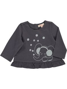 Tee-shirt manches longues bébé fille DIJOTEE6 / 18WG0936TML941