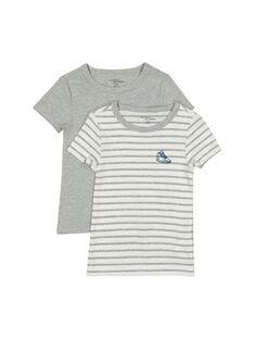 Lot de tee-shirts garçon FEGOTELBAS / 19SH1251HLIJ906