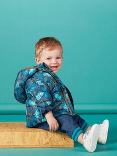 Doudoune à capuche bébé garçon KUGRODOU / 20WG10J1D3E705