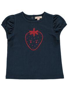 Tee-shirt manches courtes bébé fille CIJOTI3 / 18SG09R3TMC705
