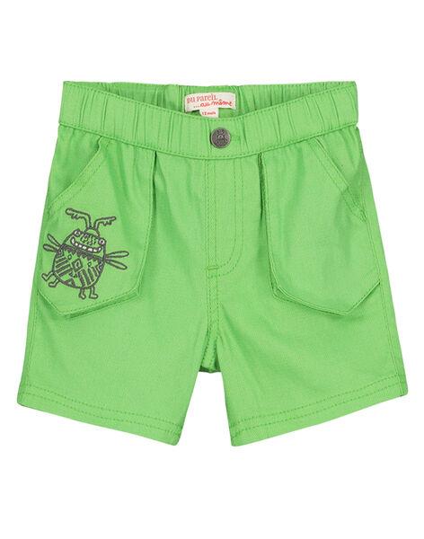 Bermuda vert bébé garçon FUYEBER1 / 19SG10M1BER603