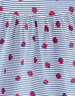 Robe de plage imprimée bébé fille JIPLAROB1 / 20SG09X1ROB000
