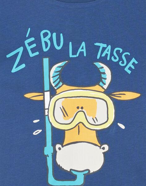 Tee Shirt Manches Courtes Bleu marine LOJOTI10 / 21S902F2TMC070