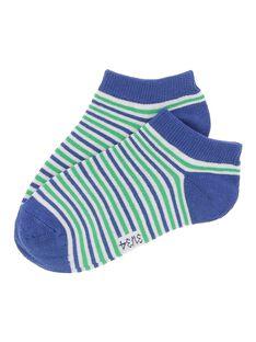 Chaussettes basses rayées garçon CYOJOCHO11A / 18SI02S9SOQ201