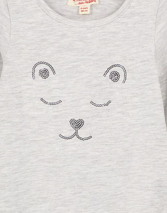 Tee shirt manches longues GIJOTEE4 / 19WG0941TML943