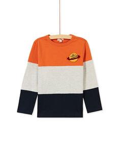 Tee-Shirt manches longues 3 couleurs enfant garçon KOGOTEE1 / 20W902L2TMLE408