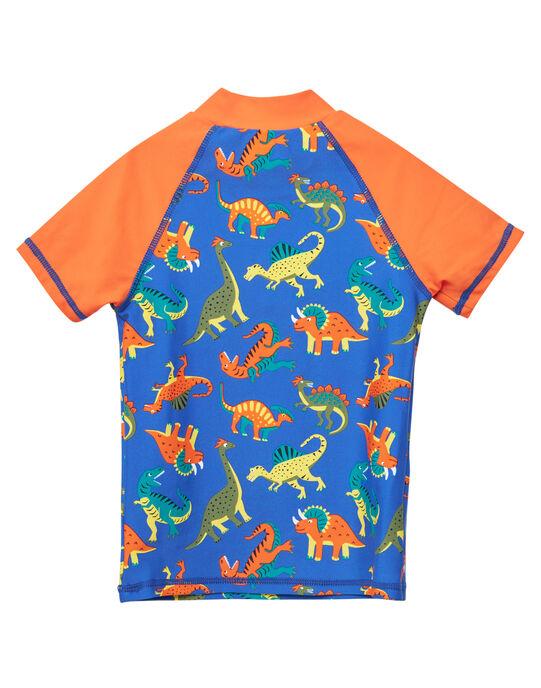 Tee-Shirt anti-uv Bleu JYOMERUVTIAOP / 20SI02K1TUV703