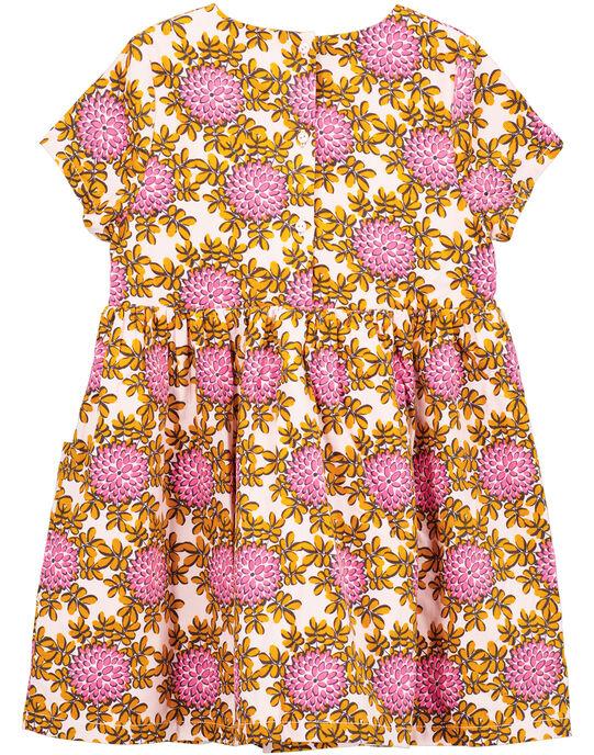 robe imprimée sur velours mille raies  GABLAROB2 / 19W901S1ROBD310