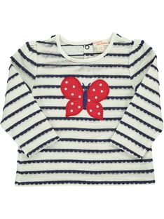 Tee-shirt manches longues bébé fille CIDETEE3 / 18SG09F3TML099